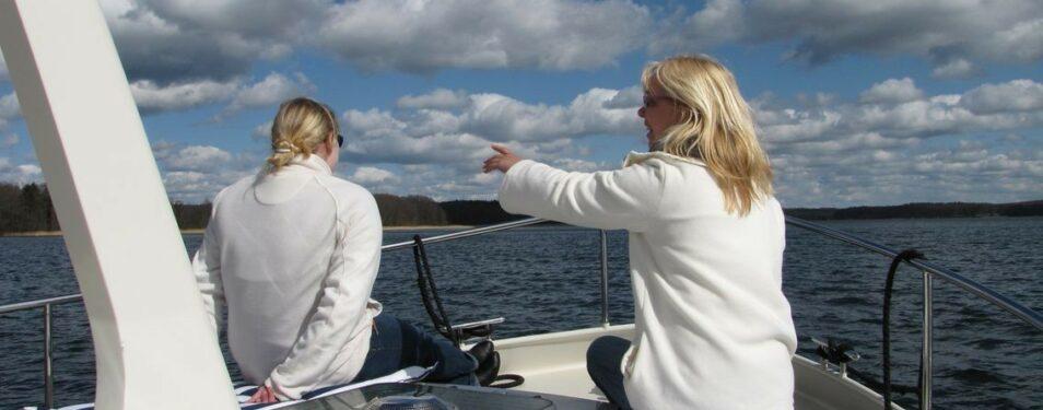 Unsere Yacht